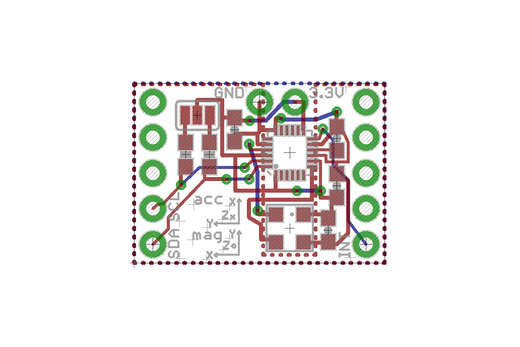 MPU9250 Teensy 3 X add-on shields