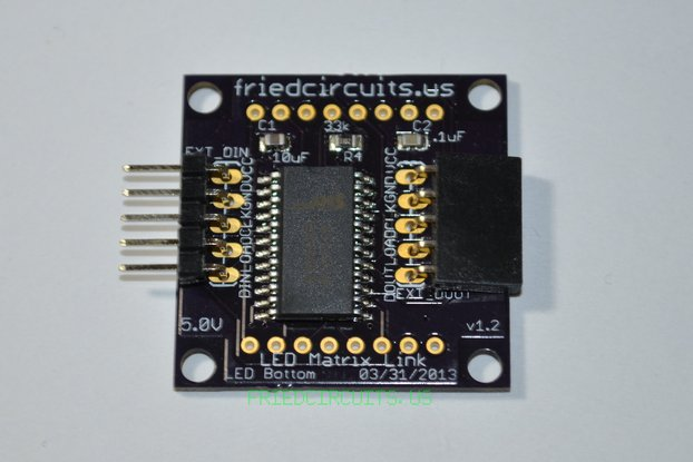 LED Matrix Link without LED Matrix Display