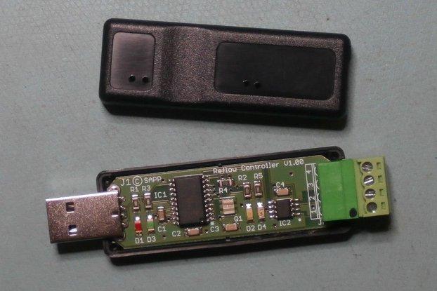 Software USB Reflow oven IR controller Win GUI
