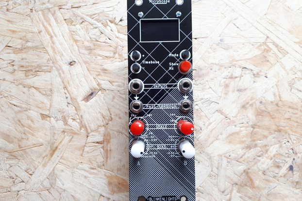 MicroScope - Eurorack oscilloscope module Kit- 8HP