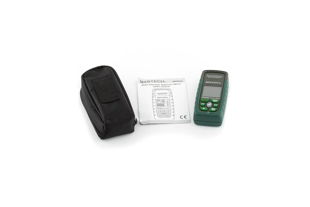 Wood Timber Moisture Humidity Temperature Detector 5
