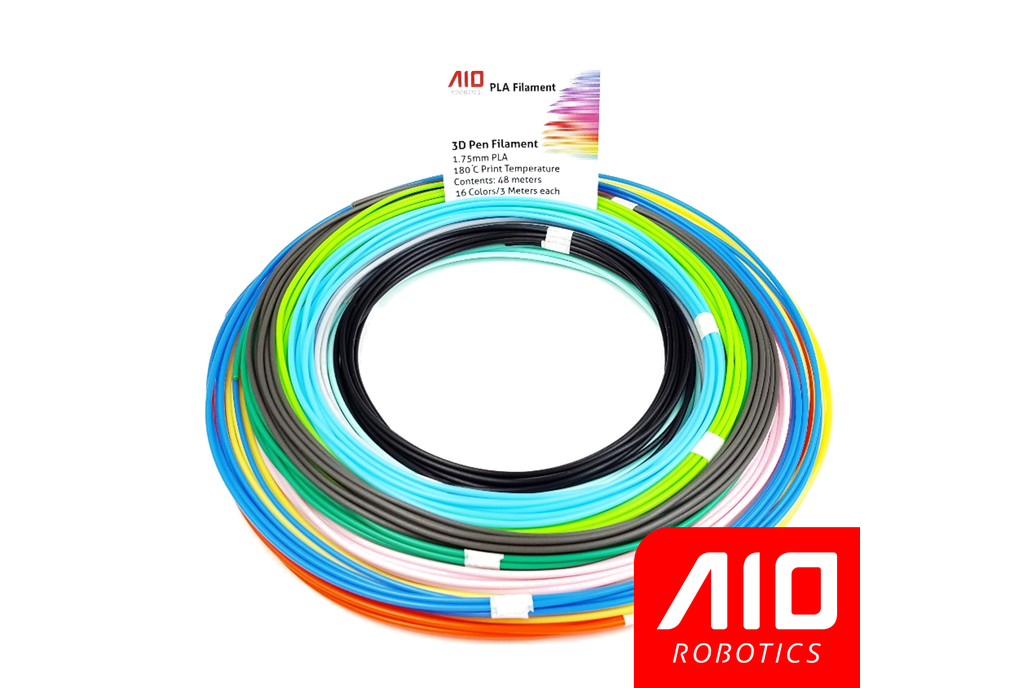 AIO Robotics Sample PLA 3D Pen/Printer Filament 1