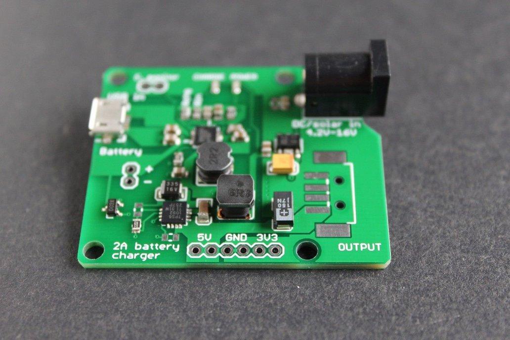 LiPO charger / boost converter 5V 3.3V outputs 2