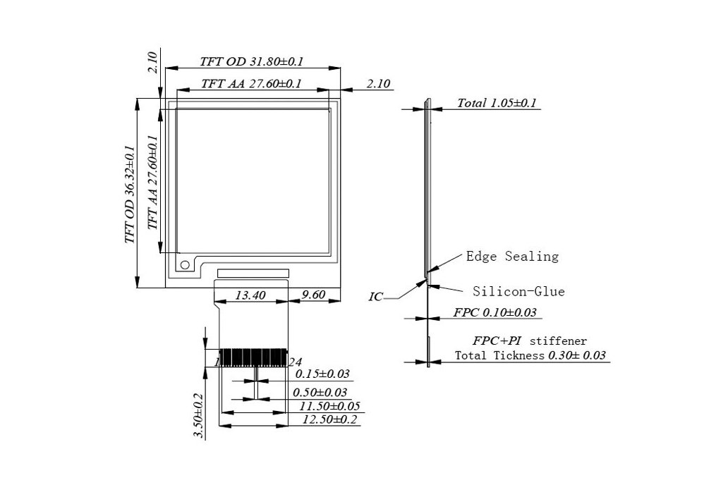Zio E-Ink Display (1.5 in, 200x 200 pixels) 7