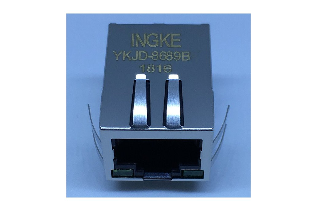 7499011222A Single Port Magnetic Modular RJ45 Jack 1