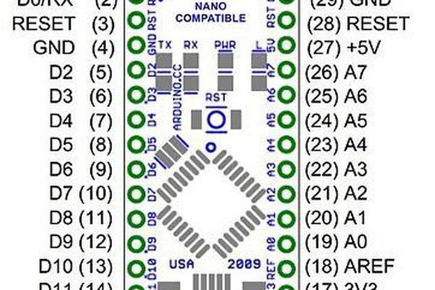 ATmega328P Nano V3 Controller Board