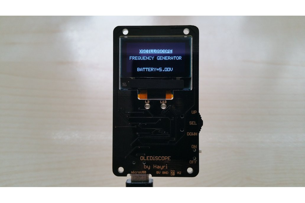 OLEDiSCOPE an Oscilloscope for your pocket 3