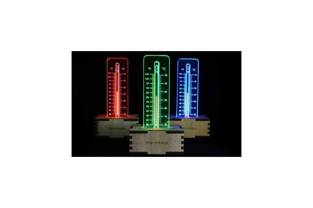 thermNeon - the neon nixie room thermometer 1