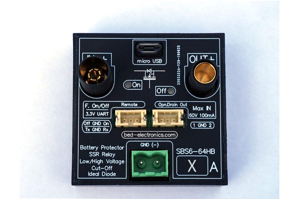 Battery Protector 6-64V (high/low volt. cut-off) 1