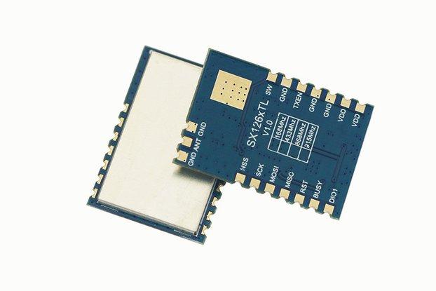 433Mhz 1W 30dBm sx1268 TCXO module DRF1268TL