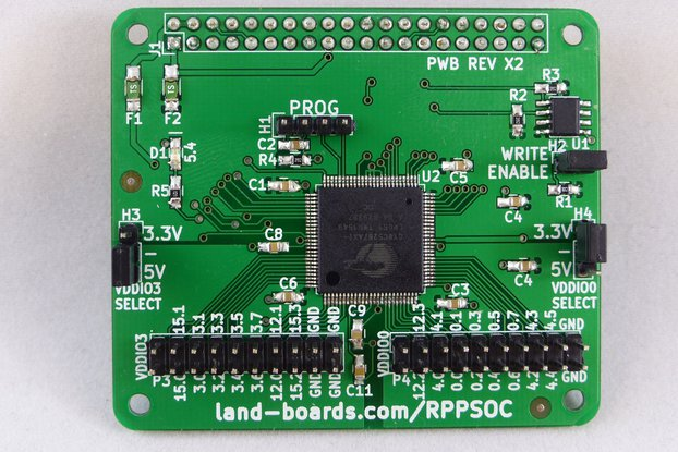 Programmable System on a Chip for the Raspberry Pi