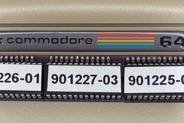 Choose your ROM! C64 & Floppy Commodore 64 & 1541