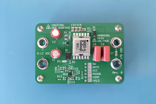 170 V flyback DC-DC evaluation board