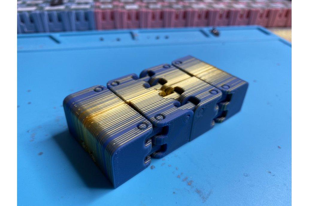 3D Printed Infinity Folding Cube 1