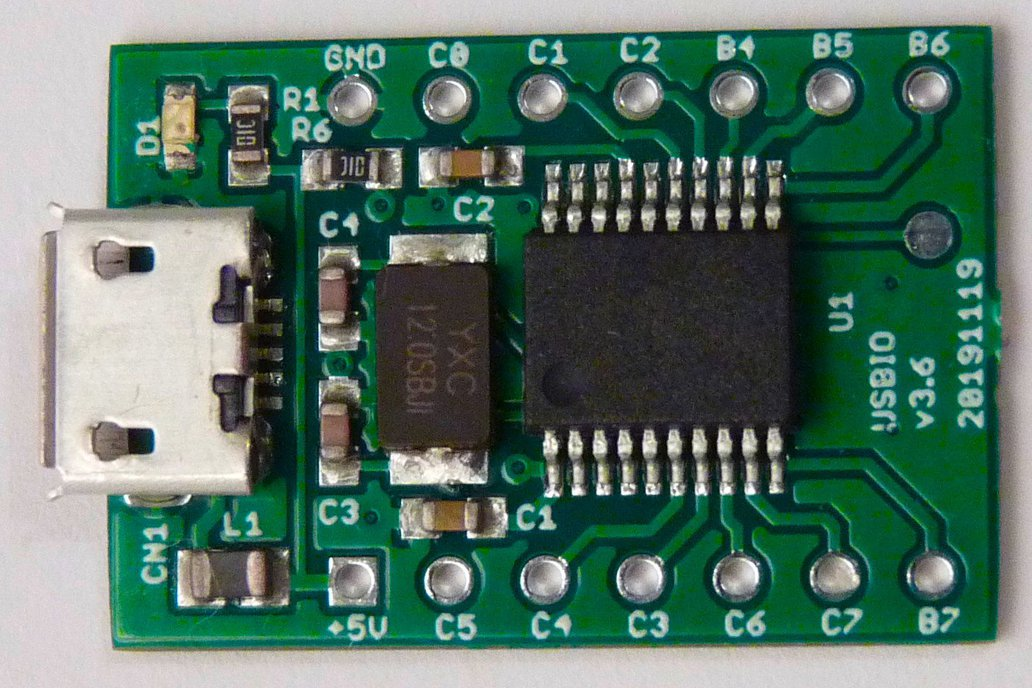 USB GPIO interface for Raspberry Pi,OpenWrt,PC 1