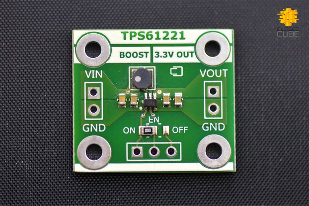 TPS61221 Low Input (from 0.7V) Boost 3.3V Breakout