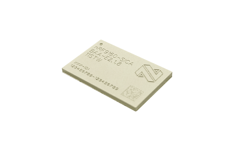 nRF9160 integrated LTE-M/NB-IoT modem and GPS