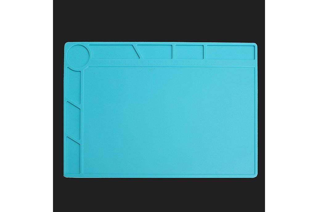 DANIU 34x23cm Heat Resistant Silicone Pad Desk 2