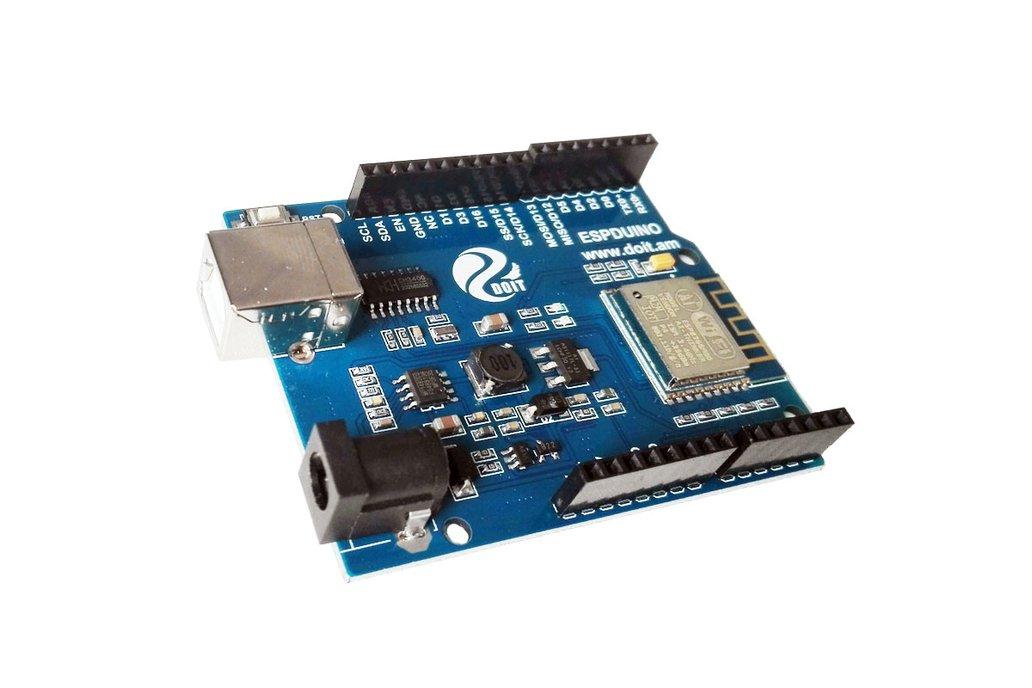 ESPDuino=WiFi +Arduino UNO R3 6