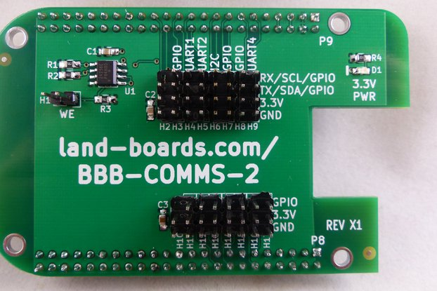 BeagleBone Black I/O Cape (BBB-COMMS-2)