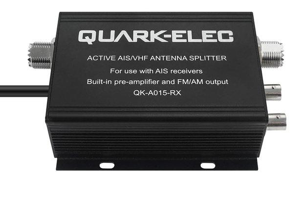 QK-A015-RX Active VHF AIS Splitter