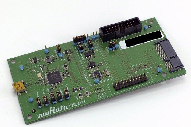 LBCA2HNZYZ-TEMP-DK - Murata BLE Type ZY Module EVK