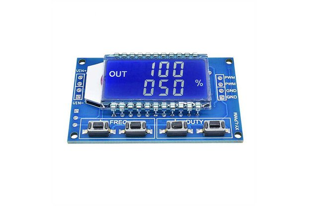 Signal Generator PWM Pulse Frequency LCD Display