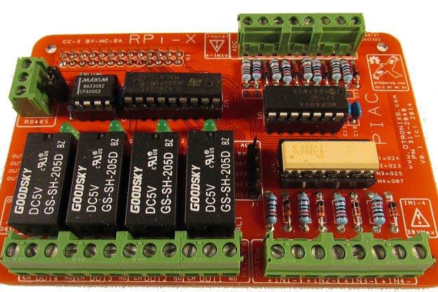 Raspbery Pi - RPI-X PIAC module