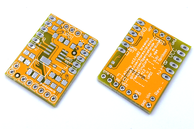 ATtiny412/similar breakout board (bare board)
