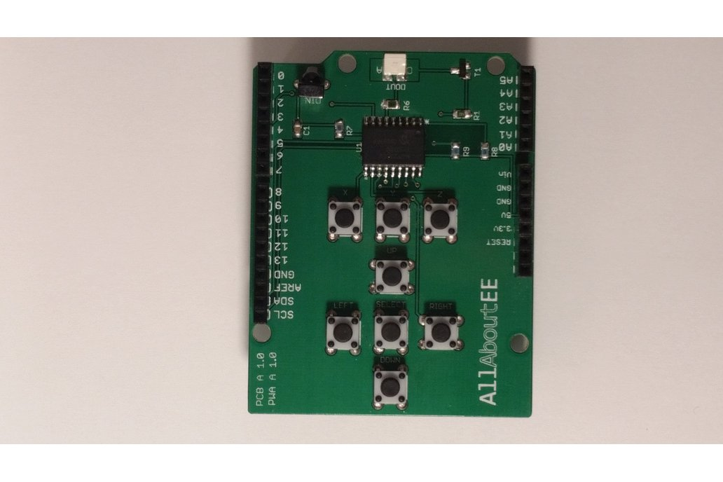 Infrared Remote Control Shield for Arduino 3