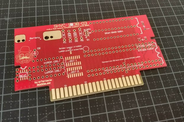 27C322 support SNES repro PCB build your own carts