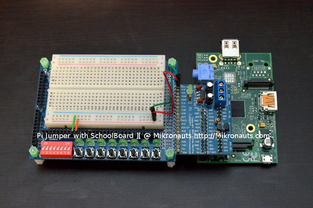 SchoolBoard ][ for Raspberry Pi