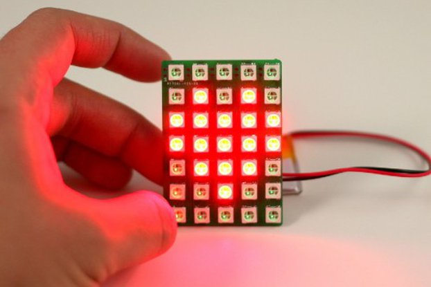 Chainable Color LED Matrix 5x7 (WS2812)