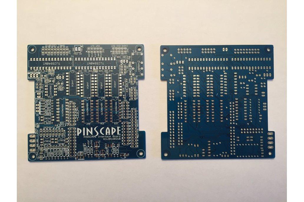 Pinscape interface board, bare PCB 1