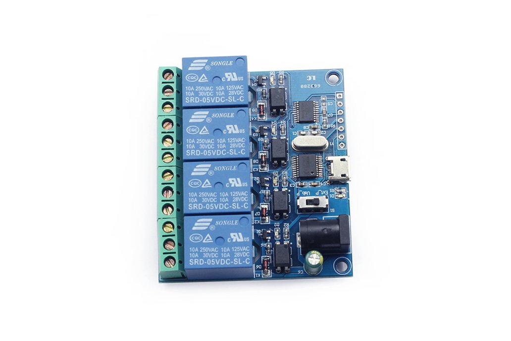5v 4 channel relay controller switch module 1