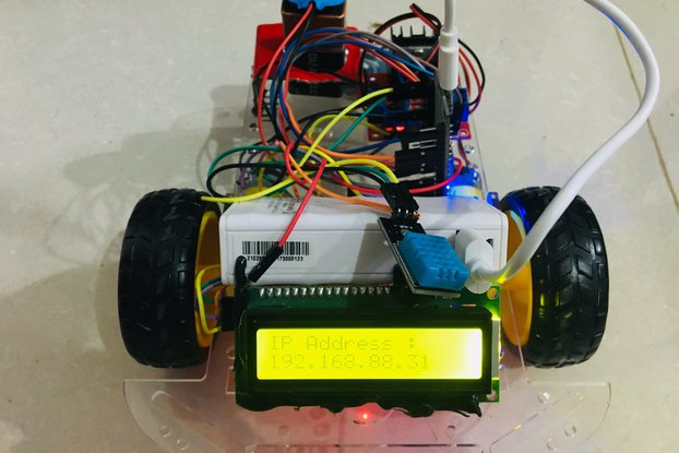 Wireless Bot With App Over Wifi