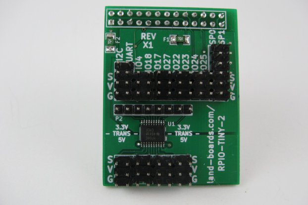 Raspberry Pi 5V Sensor Conn. Card (RPIO-TINY-2)