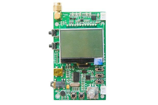DEMO_D   FM radio module demo board (for 1W VHF)