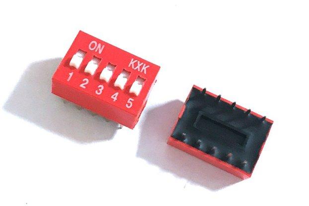 10pcs Slide Type Switch