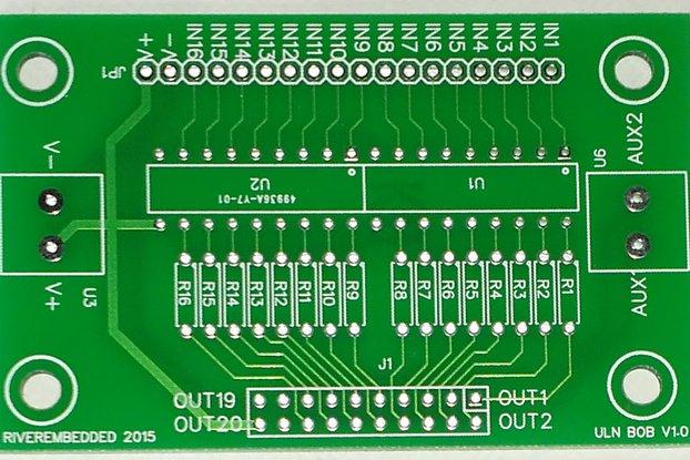 16 Ch. Darlington Driver PCB Arduino, RaspPi,  PLC
