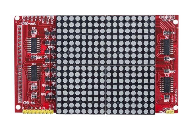 16x16 Dot LED Matrix Display