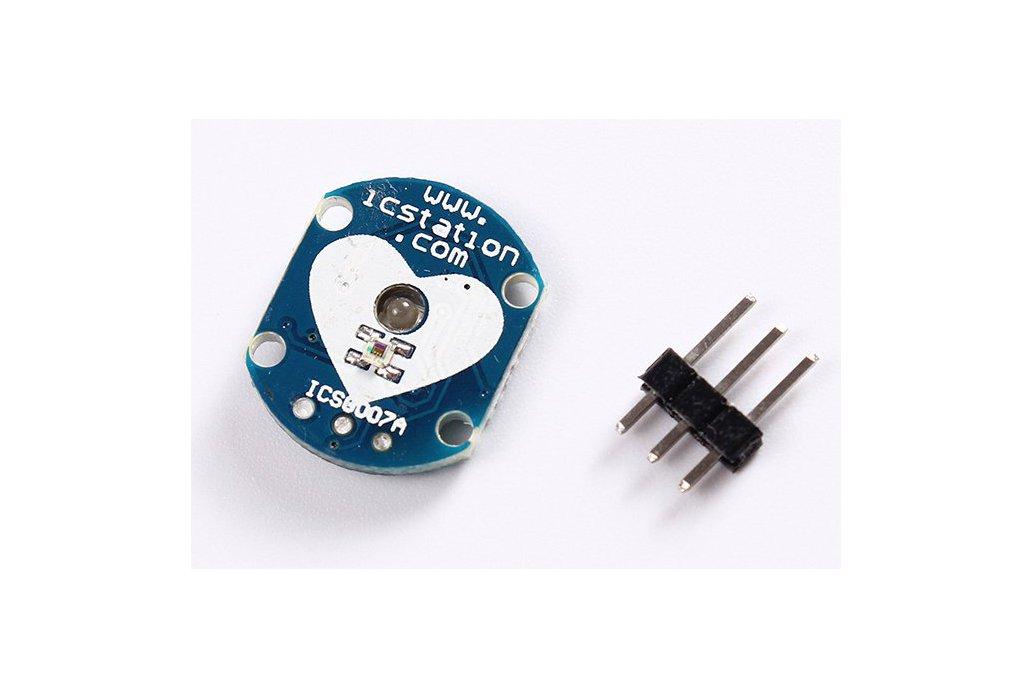Pulse Heart-rate Sensor Module for Arduino(3554) 6