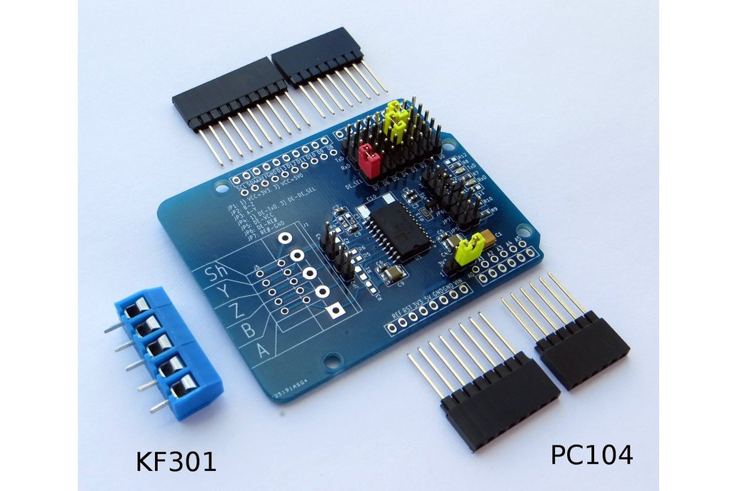 RS-485/RS-422 Isolated Transceiver Arduino Shield 1