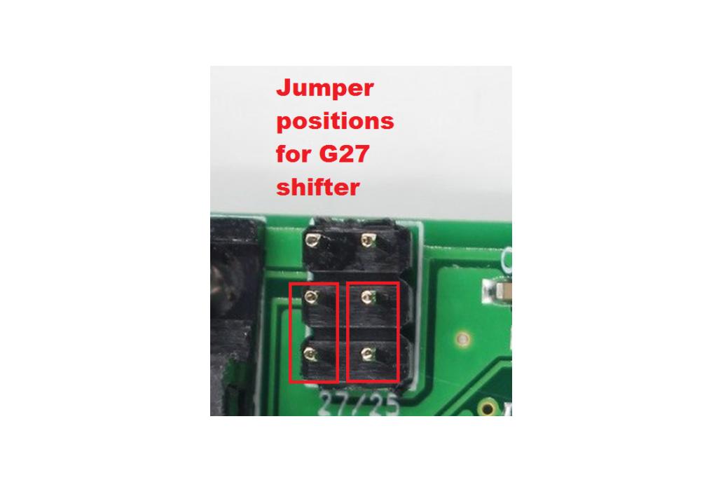 Logitech G25/G27 shifter/pedals USB adapter 3