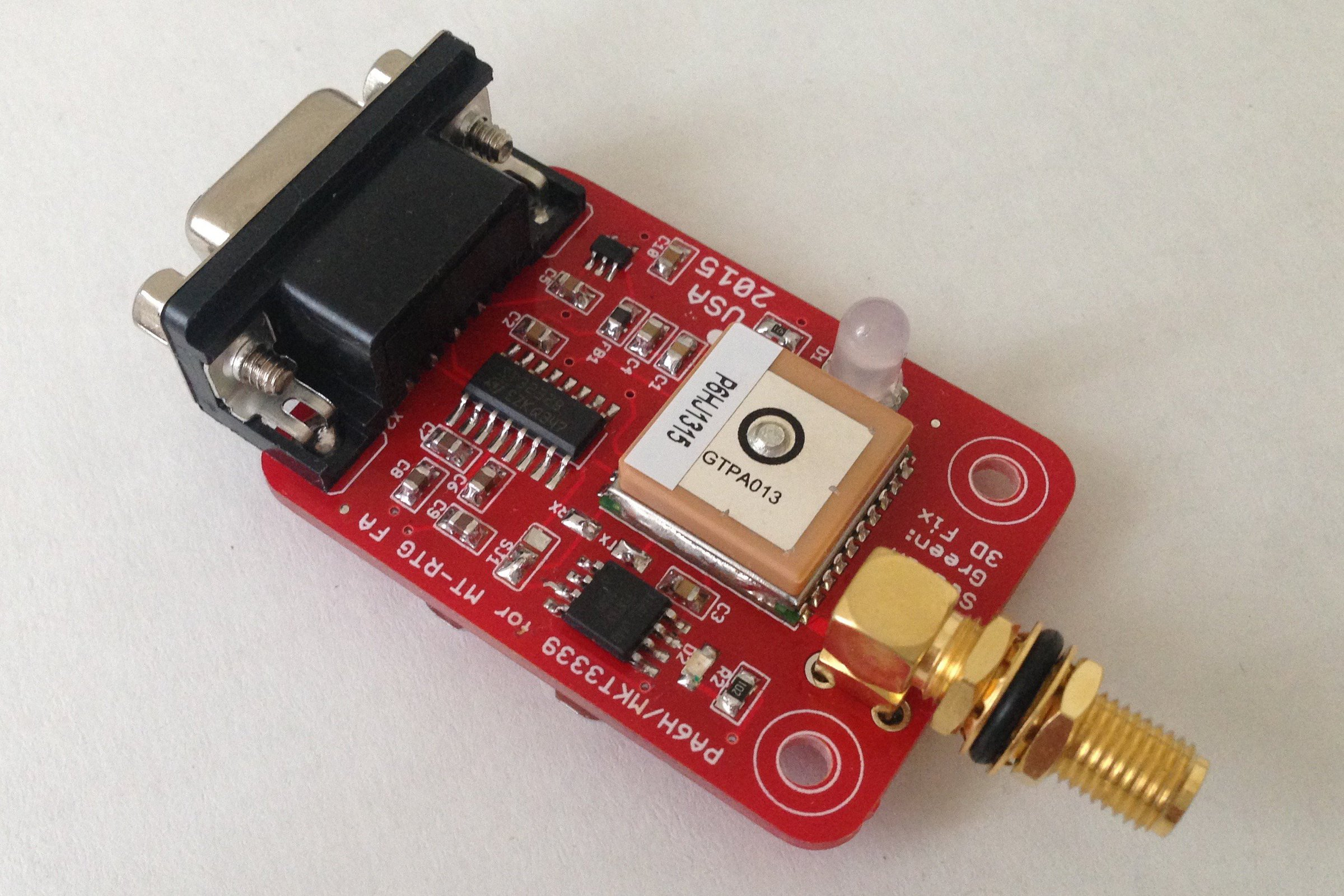 Pa6h Gps With Sma For Aprs Trackers From Ptudor On Tindie Tracker Pcb Board Printed Circuit Assembly Buy 3