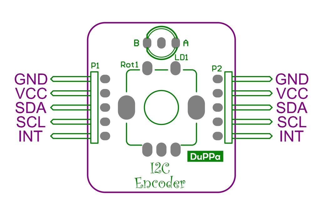 I2C Encoder: connect rotary encoders on i2c bus