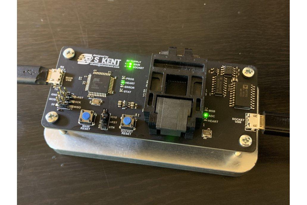 ATMEGA32 Socket Programmer 1