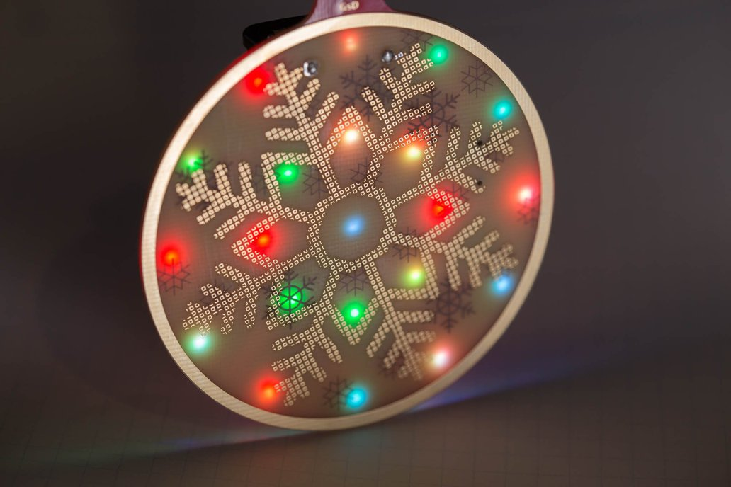 RGB LED Decorative PCB Ornament Kit 1