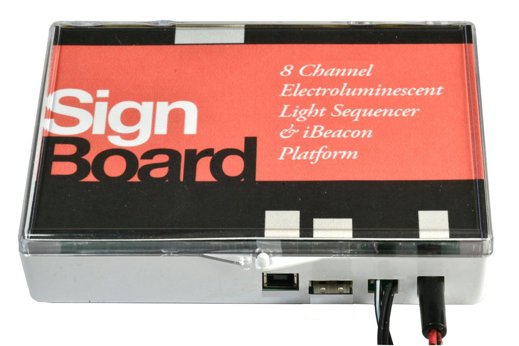 SignBoard Electroluminescent Sequencer 1