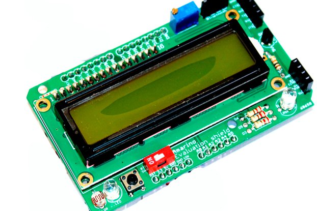 LCD Shield For Arduino-Bluetooth Android hobbyists